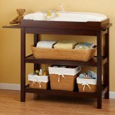 Brown Changing Table Do I Really Need A Changing Table In My Child S Nursery Paperblog