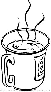 drinking coffee coloring pages for kids g3 printable drinks