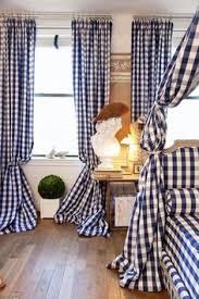 Navy Blue Plaid Curtains Honor Brodie Honorbrodie On Pinterest