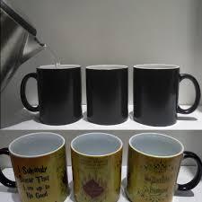 magic mugs harry drink cup color changing mug potter marauders