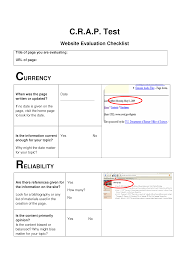 worksheet c r a p u2013 four basic qualities to look for when