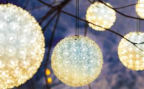 white christmas lights winter outdoor christmas decoration ideas