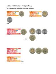 worksheets for grade 1 philippine money fifth grade english