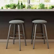 contemporary aluminum counter stool cushion aluminum counter