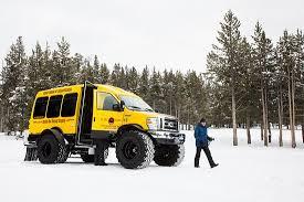 monster truck van picture buffalo bus tours west
