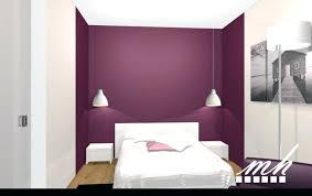 peinture prune chambre fabulous idees d chambre chambre couleur