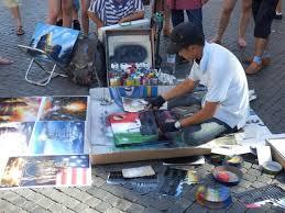 Spray Paint Artist - spray paint artist picture of piazza navona rome tripadvisor