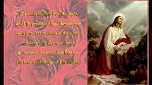 rosary novena the sorrowful mysteries in thanksgiving