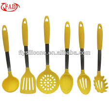 Kitchen Cooking Utensils Names by Beautiful Kitchen Utensils Set Light Green 6 Pcs Silicone With