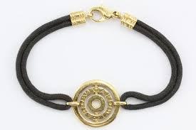 gold cord bracelet images Bulgari astrale 18k yellow gold black cord bracelet queen may JPG