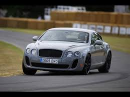 bentley continental supersports wallpaper 2009 bentley continental supersports at goodwood front angle