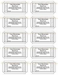 printable scale tickets free printable raffle ticket template printable numbered raffle