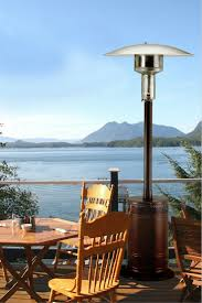 Living Flame Patio Heater by Patio Comfort Pc02j Portable Propane Patio Heater Jet Silver