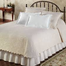 Platform Bed Skirt - bedding pretty matelasse bedding quilts and coverlets bed skirt
