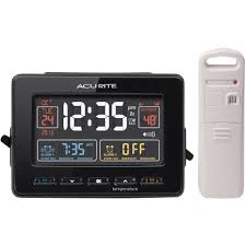 Clock That Shines Time On Ceiling by Acurite Projection Alarm Clock Walmart Com