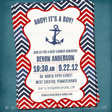 nautical baby shower invitations templates marialonghi com