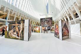 michelangelo u0027s sistine chapel has been recreated at the oculus