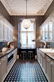 Townhouse Apartment Traditional Kitchen New York By FJ - Traditional apartment design