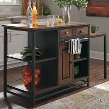 kitchen islands furniture rustic kitchen islands carts you ll wayfair