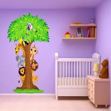 stickers jungle chambre bébé le plus brillant stickers chambre bébé jungle destiné à confortable