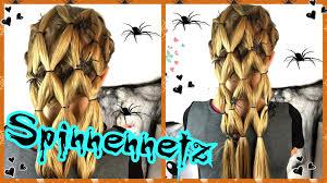 Frisuren Zum Selber Machen F Konfirmation by Coole Spinnennetz Frisur Für Kostüm Spinne Hexe