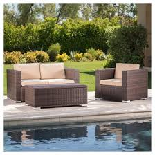 All Weather Patio Furniture Florence 3pc All Weather Wicker Patio Chair Set Christopher