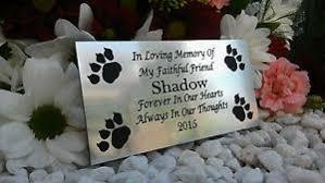cat memorial cat memorial plaque ebay