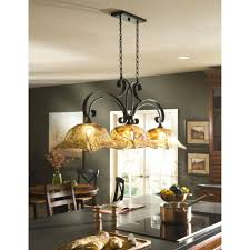 Copper Kitchen Lighting with 3 Light Fixture Wood Panel Ceiling Ideas