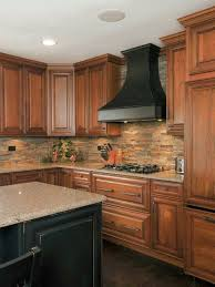 Best Backsplash Images On Pinterest Home Kitchen Ideas And - Layered stone backsplash