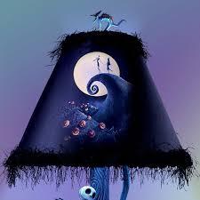 tim burton u0027s the nightmare before christmas moonlight table lamp