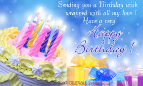 Happy Birthday Wishes To Images Sending You A Birthday Wish Wrapped With All My Love Have A Very
