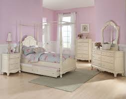 Canopy For Kids Beds by Homelegance Cinderella Canopy Poster Bed In Antique White Beyond