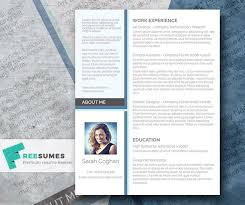 Modern Resume Templates 69 Best Free Resume Templates For Word Images On Pinterest Free