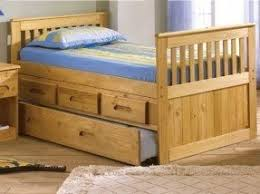 captains bed with storage drawers foter