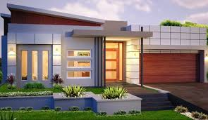 modern single story house plans single home designs with worthy a small modern house if you are