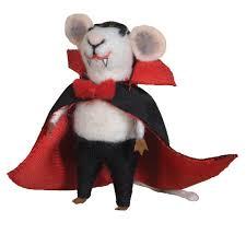 homart felt vire mouse ornament areohome