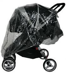 Baby Jogger City Mini Rain Canopy by Baby Jogger City Mini Double Bassinet Bassinet Decoration