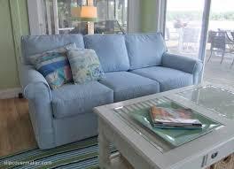 grey twill sofa slipcover beachy sofa slipcovers home the honoroak