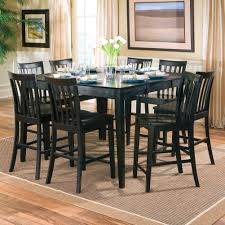Modern Square Dining Room Sets Small Modern Square Dining Table Seats Painted With All Black