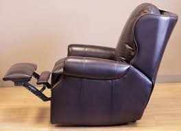 Recliner Massage Chairs Leather Barcalounger Bristol Ii Wall Hugger Recliner Chair Leather