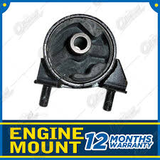 rear engine mount for ford laser ke 4wd turbo b6t 1 6l 10 87 90