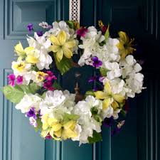 beautiful diy spring wreaths our crafty mom