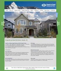 home map design 20 50 coast to coast development website design by colorado based