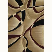 7 x 7 area rugs la chic burgundy 5 ft 3 in x 7 ft 6 in contemporary area rug