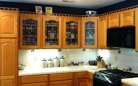 Kitchen Glass Cabinets Doors Image Of Interior Glass Kitchen