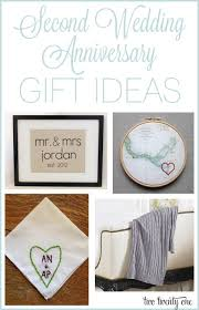 2nd wedding anniversary gifts best 25 second anniversary gift ideas on second
