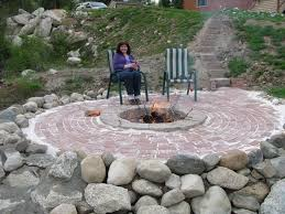 Large Firepit Large Pit Ideas Design And Ideas