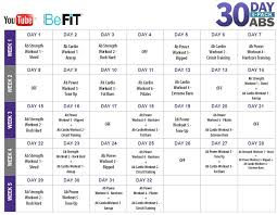 free workout schedule being frugal and making it work spring into fitness befit in 90