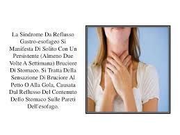 bruciore di stomaco reflusso gastroesofageo dieta cibi contro acidi
