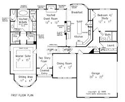 First Floor Master Home Plans Sullivan B U2013 Stanton Homes